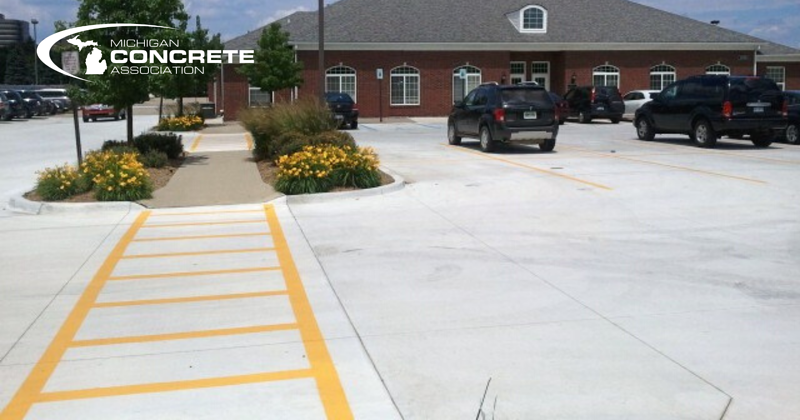 Concrete Parking Lots 3