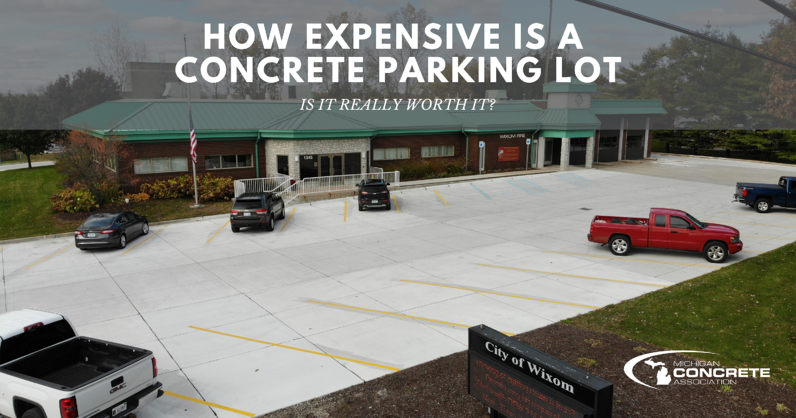 How Expensive is a Concrete Parking Lots